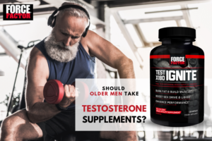 Test X180 Ignite: Should Older Guys Take Free Testosterone Boosting Supplements