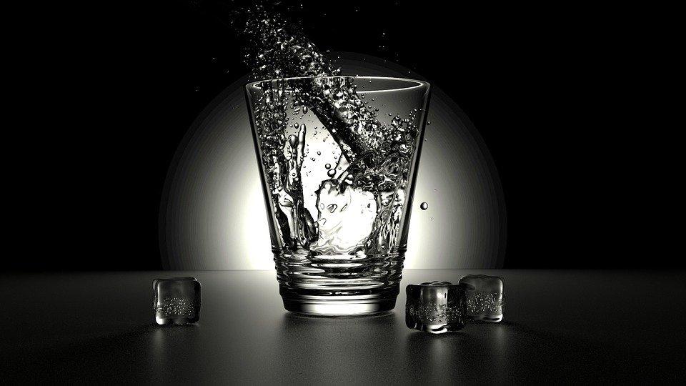 Glass, Water, Fresh, Pour, Liquid, Refreshing, Splash